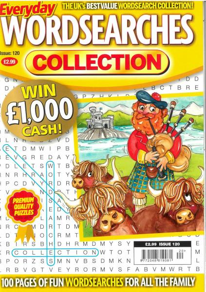 Everyday Wordsearches Collection magazine