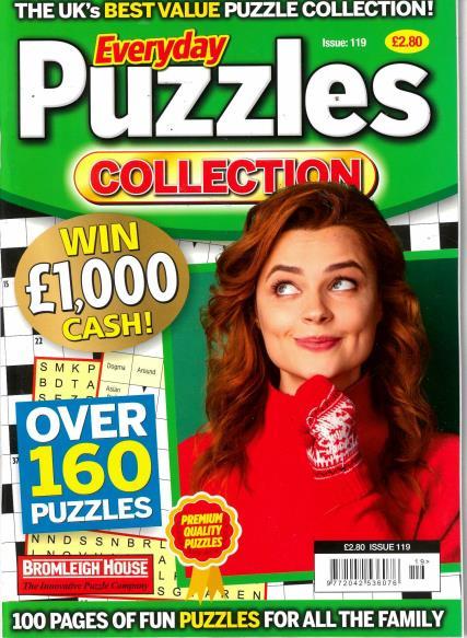 Everyday Puzzles Collection magazine