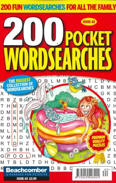 200 Pocket Wordsearches magazine