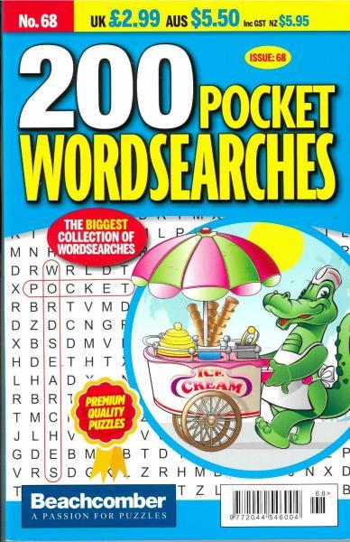 200 Pocket Wordsearches magazine