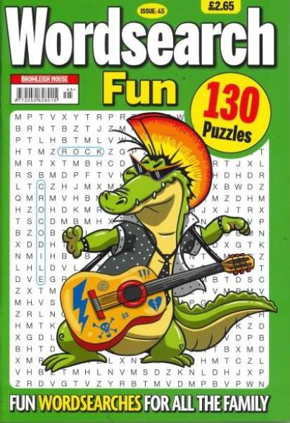 Wordsearch Fun magazine