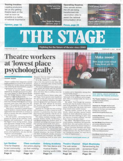 The Stage magazine