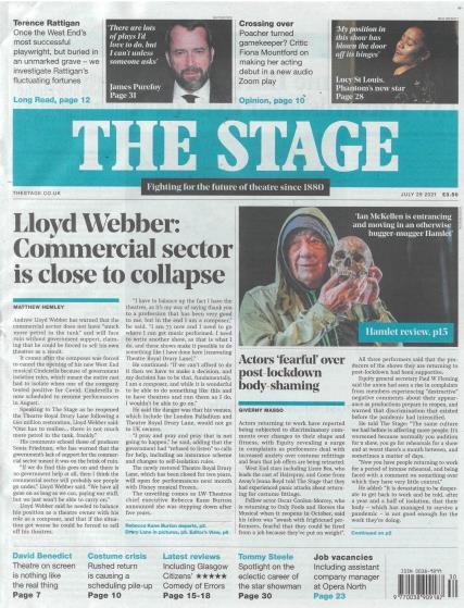 The Stage magazine