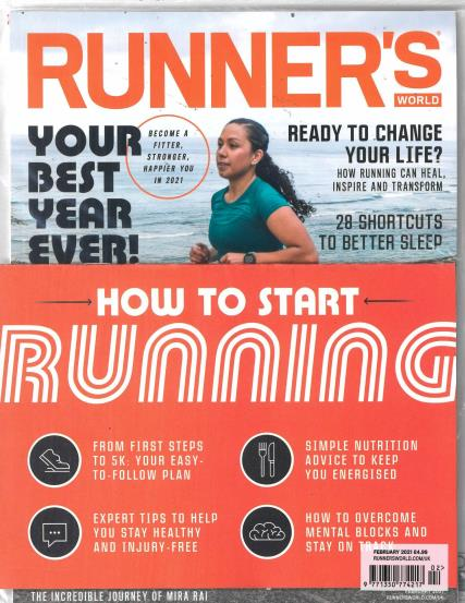Runner's World USA magazine