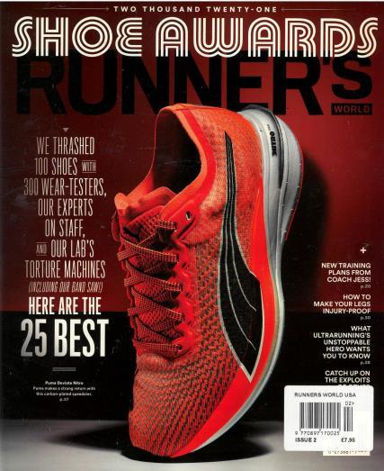 Runner's World USA magazine