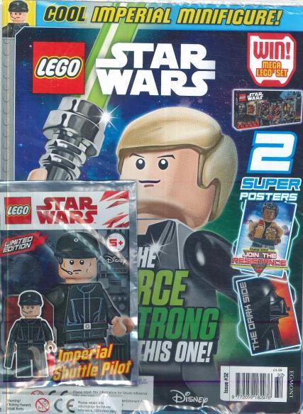 lego star wars magazine