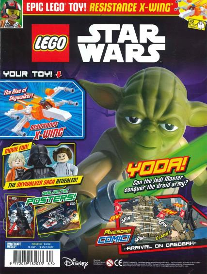 Lego Star Wars magazine