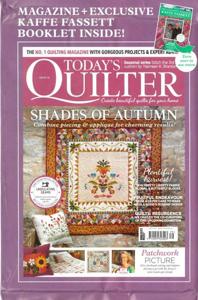 Today's Quilter magazine
