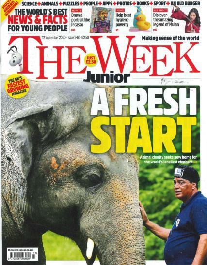 The Week Junior magazine