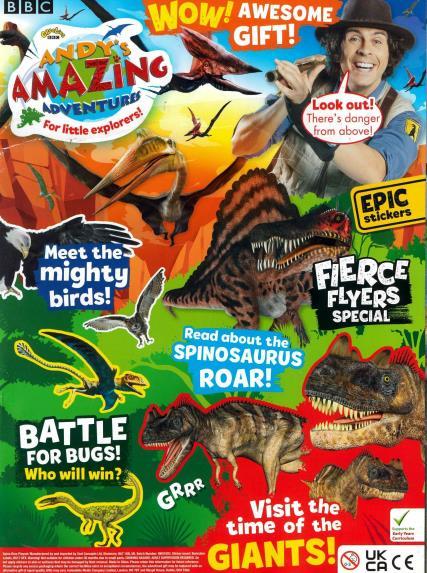 Andy's Amazing Adventures magazine