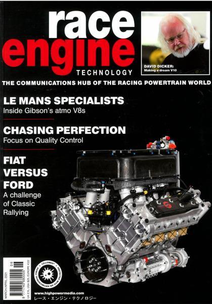 Race Engine Technology magazine