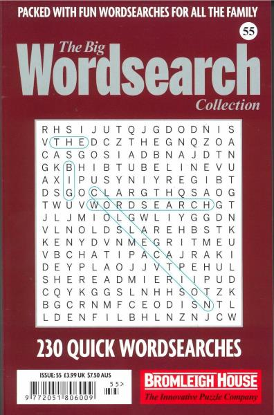 The Big Wordsearch Collection magazine