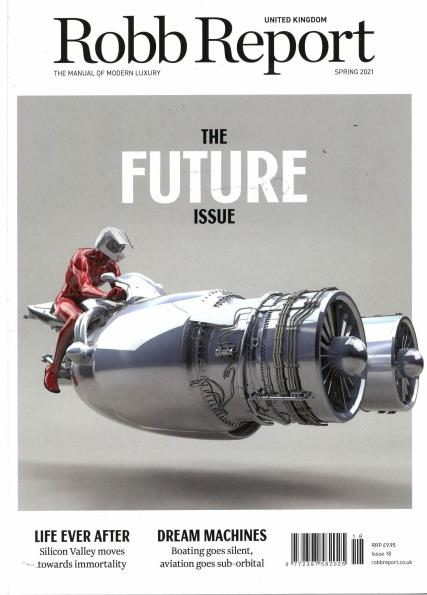 Robb Report UK magazine