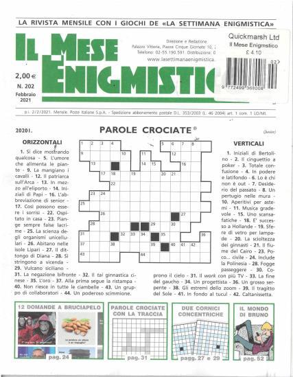 Il Mese Enigmistico magazine