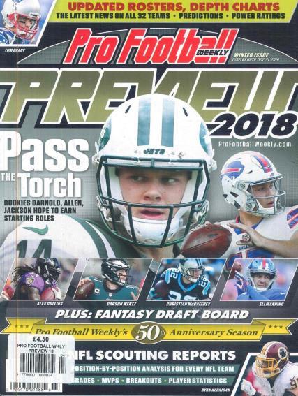 Pro Football Weekly magazine