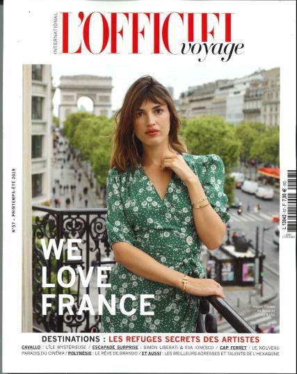 L'Officiel Voyage magazine