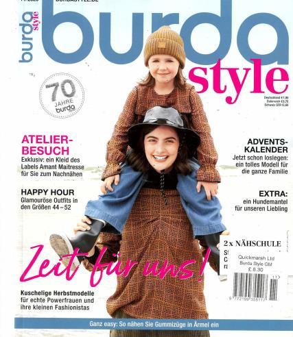 Burda Style German magazine