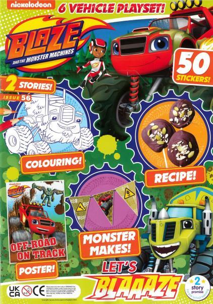 Blaze and the Monster Machines magazine