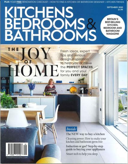 Kitchens Bedrooms and Bathrooms magazine