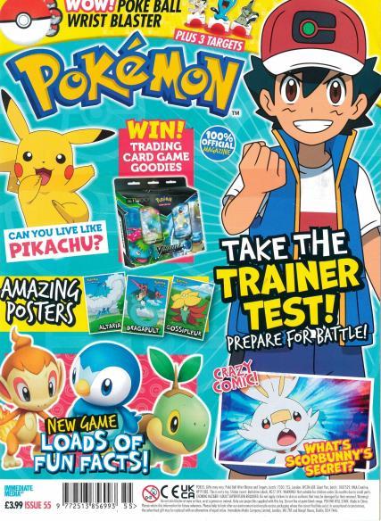 Pokemon magazine