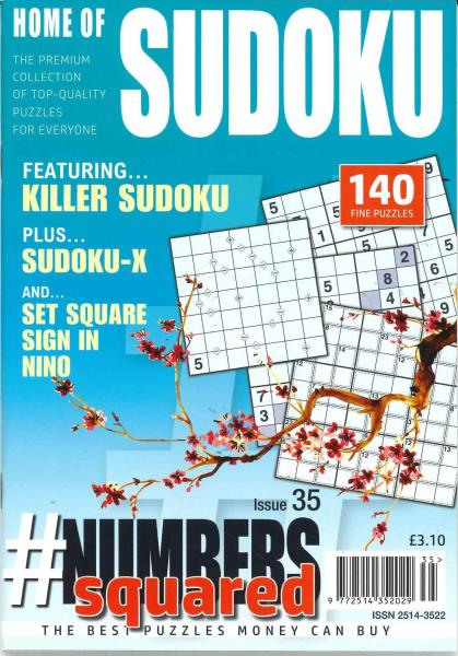 Numbers Squared magazine