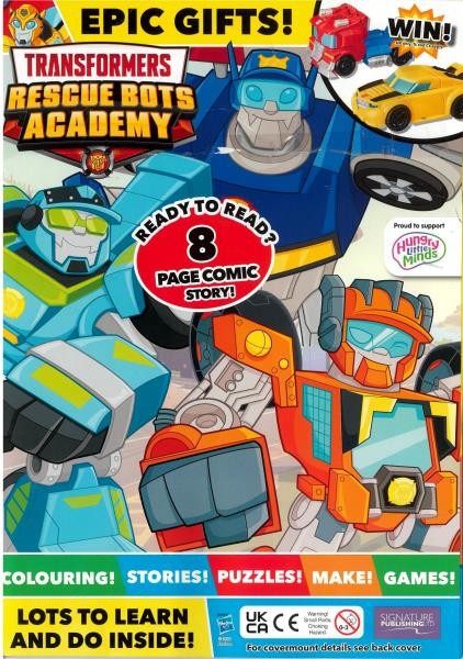 Transformers Rescue Bots magazine