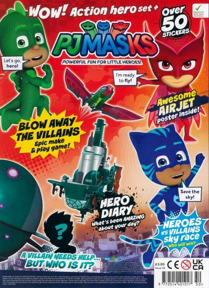PJ Masks magazine