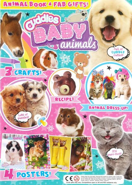 Cuddles Baby Animals magazine