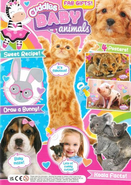 Cuddles Baby Animals magazine