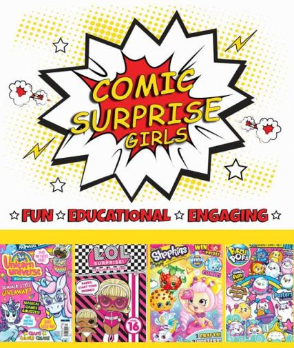 Comic Surprise - Girls magazine