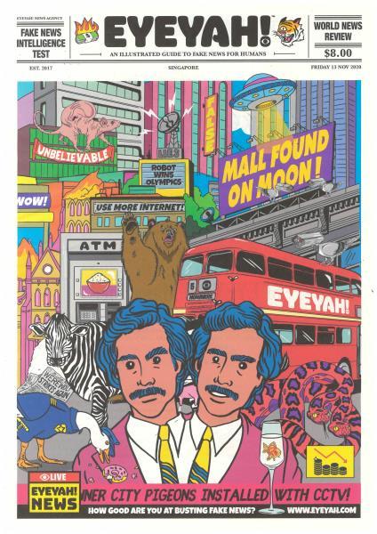 Eyeyah magazine