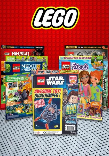 Lego - Magazines for Schools magazine
