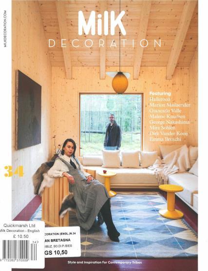 Milk Decoration English magazine