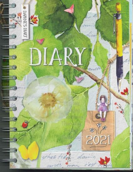 Daphne's Diary Journal magazine