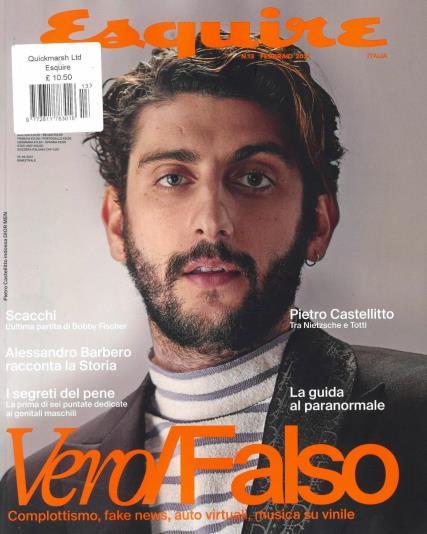 Esquire Italia magazine