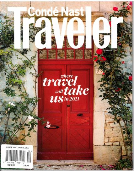 Conde Nast Traveller USA magazine