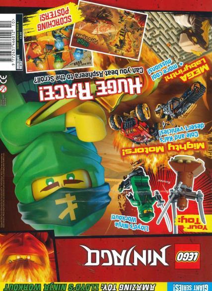 Lego Giant Series magazine