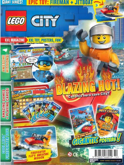 Lego Giant Series magazine