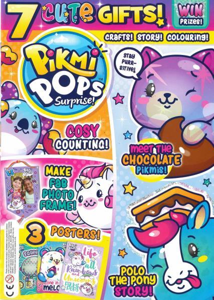 Pikmi Pops Surprise magazine