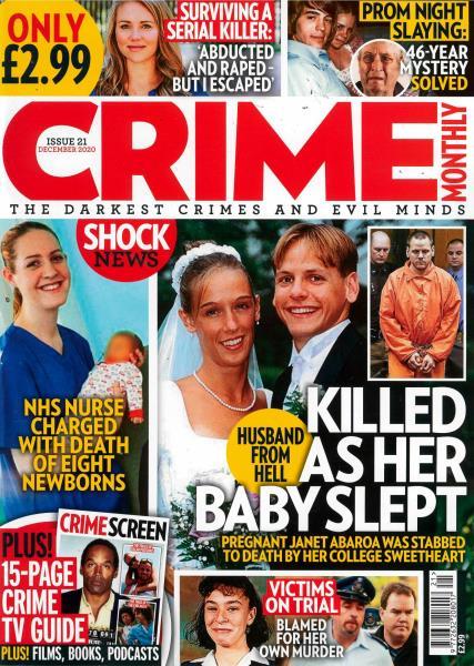 Crime Monthly magazine