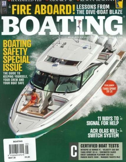 Boating magazine