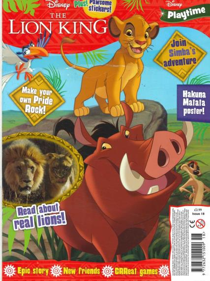 Disney Playtime magazine