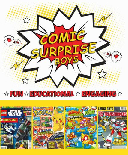 Comic Surprise - Boys magazine