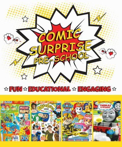 Comic Surprise - Pre-School magazine