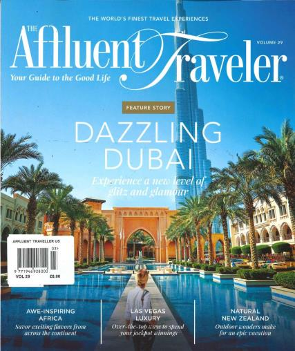 The Affluent Traveller magazine