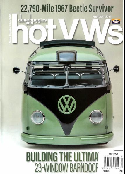 Dune Buggies & Hot VWs magazine