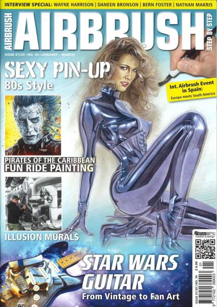Airbrush Step By Step magazine