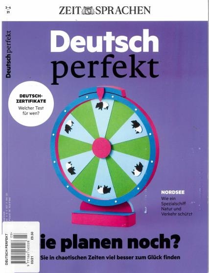 Deutsch Perfekt magazine