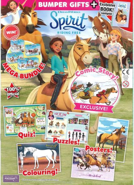 Spirit Riding Free magazine