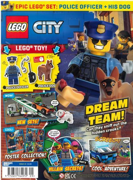 Lego City magazine